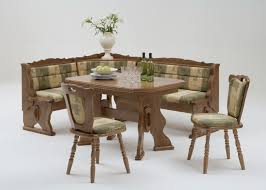 Kitchen Table With Bench Set Corner Kitchen Table Sets Design Interior Rectangle Brown Wooden