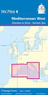 Nv Pilot 4 Mediterranean West Gibraltar To Sicily