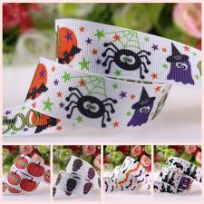 Heat Transfer Designs Us 21 25 15 Off 15 Halloween Designs Heat Transfer Hallowmas Grosgrain Ribbon On 22mm 38mm 100yards Lot In Hair Accessories From Mother Kids On