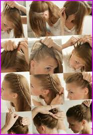 Coiffure Facile Cheveux Court A Faire Soi Meme Enfant 346362