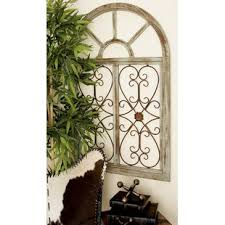 wood and metal wall decor on iron and wood panel wall art in white with metal wall art
