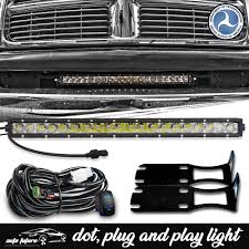 2004 Dodge Ram Bumper Light Bar Details About For Dodge Ram 2500 3500 2004 2018 20 Led Light Bar Front Lower Bumper Brackets