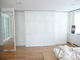 elegant collection built in bedroom closet bed 4375