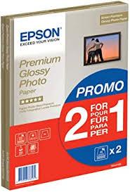 <b>EPSON</b> Premium <b>glossy</b> photo <b>paper</b> inkjet 255g/m2 (A4 <b>paper</b> 210 ...