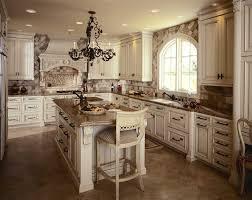 Victorian Kitchen Floors Kitchen Traditional Rustic Kitchen Interior With Sandstone Wall