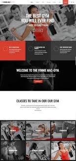 gym website design gym fitness website design vinnie mac website design digital