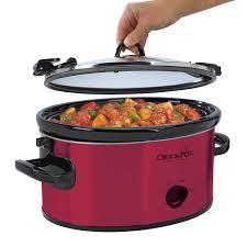 crock pot acirc reg cook carry acirc cent manual slow cooker in silver at crock pot com crock potacircreg 6 quart cook carryacirc132cent manual slow
