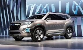 2018 subaru ascent.  2018 Subaru Viziv7 Concept 2016 Los Angeles Auto Show With 2018 Subaru Ascent