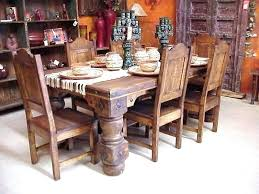 rustic furniture dining table compny ashley furniture rustic dining table