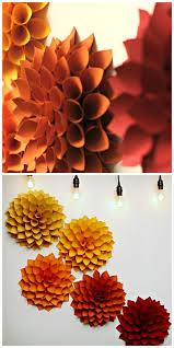 Wall Ideas  3d Wallpaper Home Decor Uk Paper Flower Wall Decor Diy Paper Home Decor