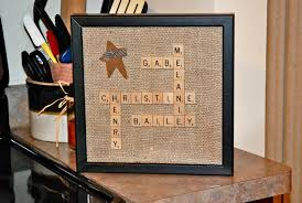 Scrabble Letter Wall Decor 39 Scrabble Names Wall Art Wall Decor Wooden Family Scrabble Wall