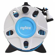 nylex 15m wall mounted hose reel bunnings warehouse garden hose wall mount home