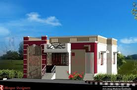 Small Picture Single Home Designs Indian House Design Small Budget House Designs