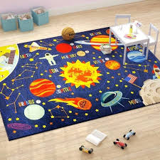 outer space rug outer space safari road map educational learning blue indoor outdoor area rug outer space rugs