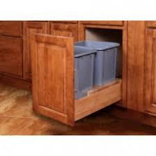 WBS18 Savannah Double Pull-Out Waste Basket