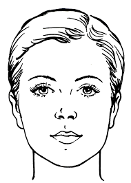 1143x1600 makeup woman face coloring page