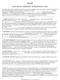 © 2004 the judicial title insurance agency llc. Basic Rental Agreement Or Residential Lease Fill Out And Sign Printable Pdf Template Signnow