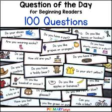 Preschool Charts And Graphs Question Of The Day For Preschool Pre K And Kindergarten Pocket Chart Cards