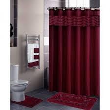 burgundy shower curtain sets. 3998 burgundy floral ribbon 18 piece bathroom set 2 rugsmats shower curtains curtain sets e