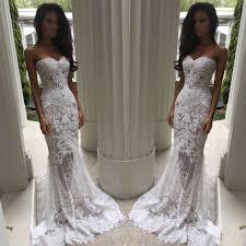 charming sheath column sweetheart court train lace wedding dresses