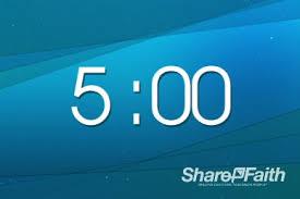 5 Minute Countdown Video Timer Loop For Church Church