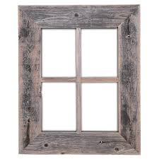 Old Window Frame Decor Amazoncom Old Rustic Window Barnwood Frames Not For Pictures