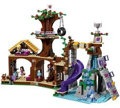 Buy LEGO Friends Adventure Camp Tree House Playset  41122 At Friends Lego Treehouse