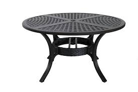 sunvilla somerset 54 round wicker dining table