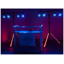american dj lts color t bar lighting stand
