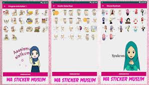 Tentu saja kumpulan tema acara yang menarik memang telah banyak dicari oleh orang di internet. Updated Wa Sticker Muslimah Islamic Sticker Cute Mod App Download For Pc Android 2021
