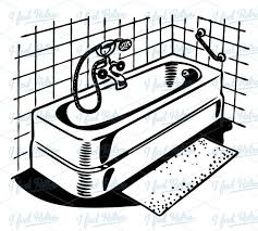 bathroom clipart black and white.  Bathroom To Bathroom Clipart Black And White U