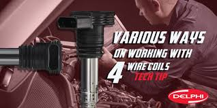tech tip the various ways on working with 4 wire coils on toyota Delphi Wire Coils tech tip the various ways on working with 4 wire coils on toyota Delphi Coil Pack