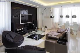 ... Apartment Living Room Design Ideas Modern Excerpt Interior Floor Lamp  And Pendant Stainless Cover Comfortable Ideas ...