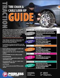 Snow Cable Size Chart 66 How To Install Cable Snow Chains