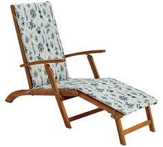 argos home steamer chair with botanic cushion garden chairs and sun loungers argos