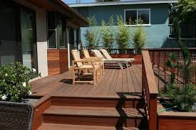 Backyard Deck Design Ideas New Deck Size Height Landscaping Network