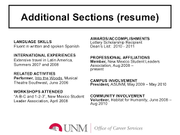 Additional Skills For Resume Magnificent Additional Skills For A Resume 60 Player