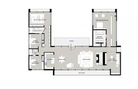 u shaped house plans with pool australia