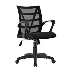 comfortable home office. LANGRIA Comfortable V Shape Medium Back Mesh Home Office Desk Chair,  Ergonomic Design, Comfortable Home Office