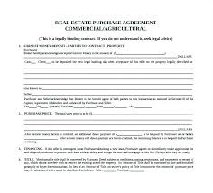 Commercial Real Estate Purchase Agreement Template Sample 7 Examples ...