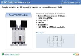 lsis solutions for renewable grid ppt dc switch disconnector