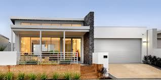single story modern home design. Champion, Single Storey Modern Home Design, WA Story Design