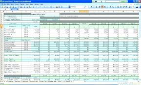 Contractor Budget Template House Construction Budget