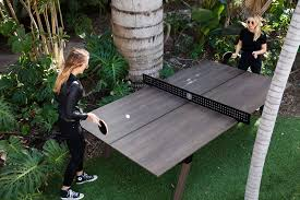 whilst not all of us enjoy the requisite weather to opt for an outdoor table tennis table some are lucky enough to have year round nice weather and for