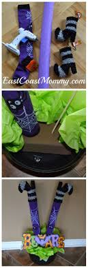 Witch Decorating Best 25 Witch Legs Ideas On Pinterest Pool Noodle Halloween