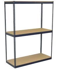 jaken 60x36x84 3 shelf 750 lb cap heavy duty shelving 3bw3 603684 jpg