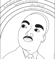 Cartoon Of Martin Luther King Coloring Pages Famous Jr Kids Book ...