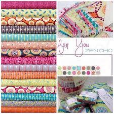 248 best Quilt fabrics - my digital stash images on Pinterest ... & FOR YOU Fabrics by Zen Chic Adamdwight.com