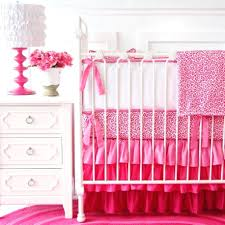 purple polka dot crib bedding baby sets for girls features pink cheetah fabric blanket white lacquered wood chest and brown