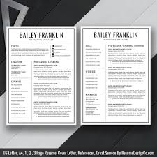 Digital Resume Templates 2020 Ms Word Resume Template Cover Letter And References Templates Resume Fonts And Icons Resume Editing Guide Digital Instant Download The
